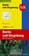 Falk Regionalkarte 06. Berlin und Umgebung. 1 : 150 000