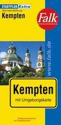 Falk Stadtplan Extra Standardfaltung Kempten 1:17 000