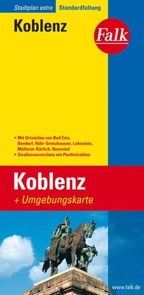 Falk Stadtplan Extra Standardfaltung Koblenz 1 : 20 000 als Buch