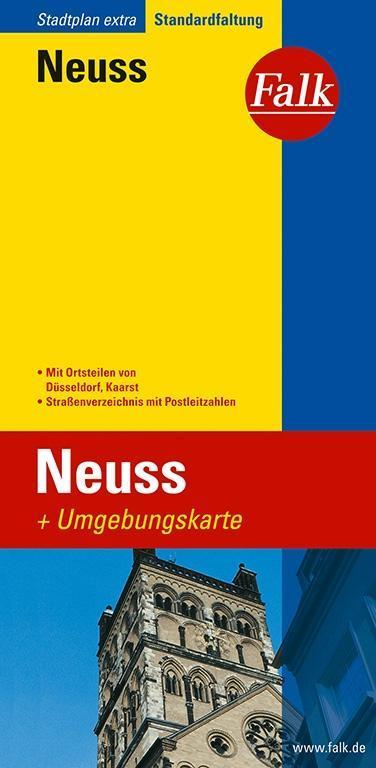 Falk Stadtplan Extra Standardfaltung Neuss als Buch