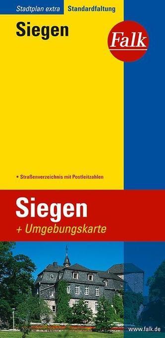 Falk Stadtplan Extra Standardfaltung Siegen 1 : 17 000 als Buch