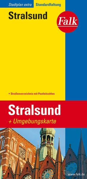 Falk Stadtplan Extra Standardfaltung Stralsund als Buch