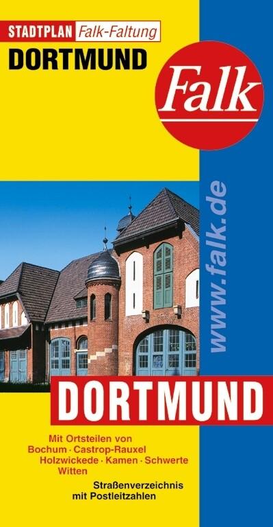 Falk Stadtplan Falkfaltung Dortmund 1: 25 000 als Buch