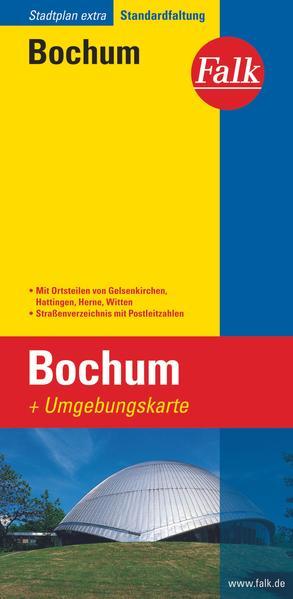 Falk Stadtplan Extra Standardfaltung Bochum 1 : 15 000 als Buch