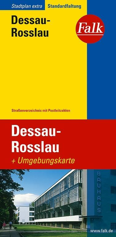 Falk Stadtplan Extra Standardfaltung Dessau-Rosslau 1 : 22 000 als Buch
