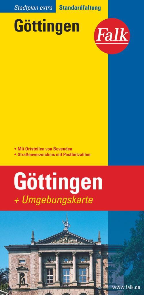 Falk Stadtplan Extra Standardfaltung Göttingen als Buch
