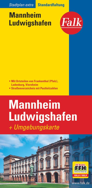 Falk Stadtplan Extra Standardfaltung Mannheim / Ludwigshafen als Buch