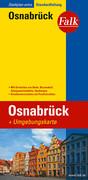 Falk Stadtplan Extra Standardfaltung Osnabrueck