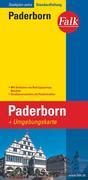 Falk Stadtplan Extra Standardfaltung Paderborn