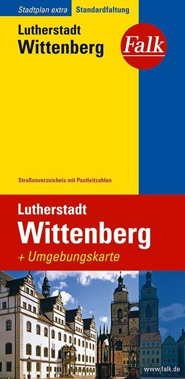 Falkplan Extra Lutherstadt Wittenberg als Buch