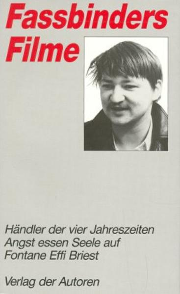 Fassbinders Filme 3 als Buch