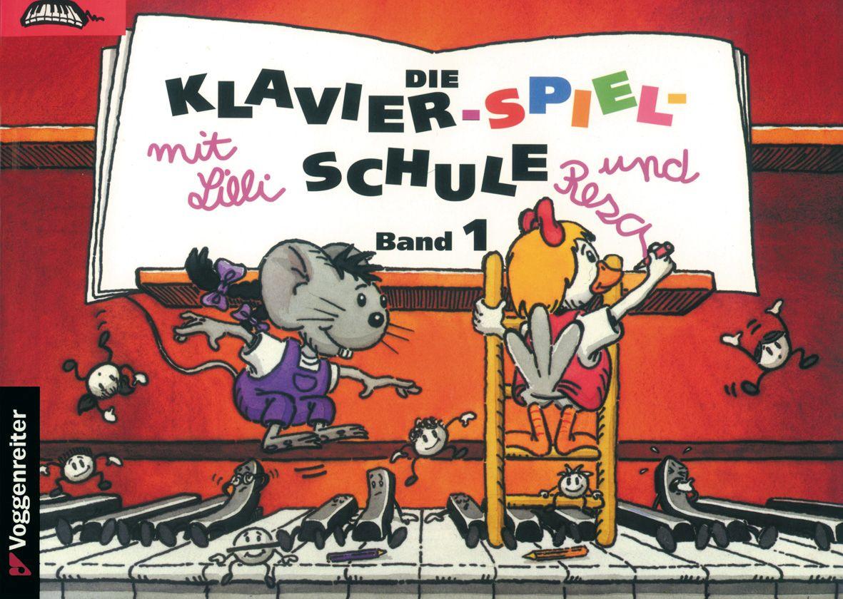 Klavier-Spiel-Schule 1 mit Lilli und Resa als Buch