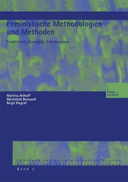 Feministische Methodologien und Methoden als Buch