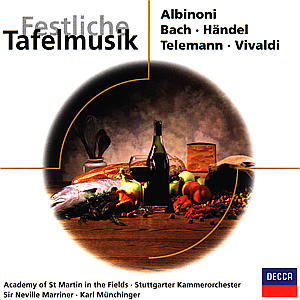Festliche Tafelmusik als CD