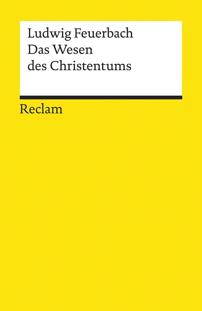 Das Wesen des Christentums als Taschenbuch