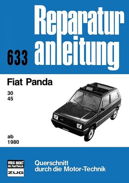 Fiat Panda (30, 45). Ab 1980 als Buch