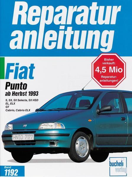 Fiat Punto (ab Herbst 1993) als Buch