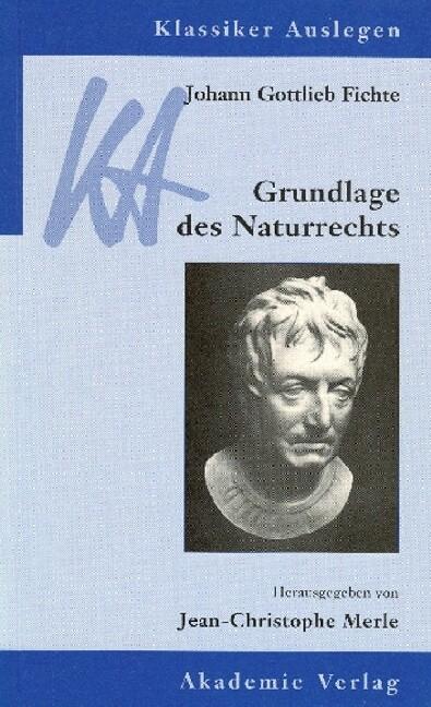Grundlage des Naturrechts als Buch
