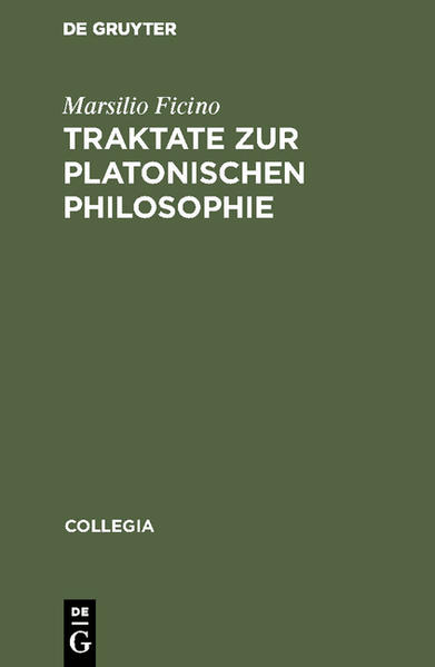 Traktate zur Platonischen Philosophie als Buch