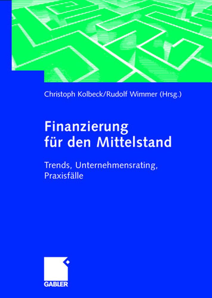 Finanzierung für den Mittelstand als Buch