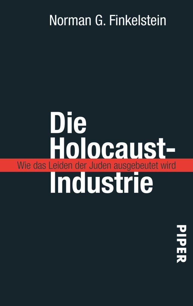 Die Holocaust-Industrie als Taschenbuch