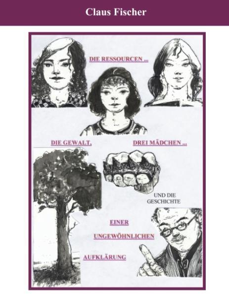 Die Ressourcen, drei Mädchen, die Gewalt als Buch
