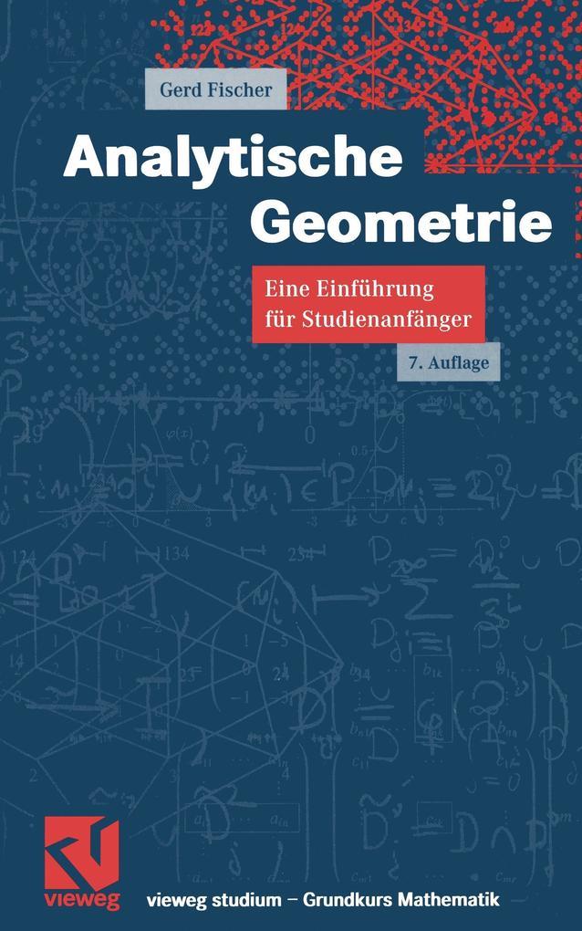 Analytische Geometrie als Buch (gebunden)