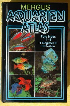Aquarien Atlas. Foto Index 1-5 + Register 6 als Buch