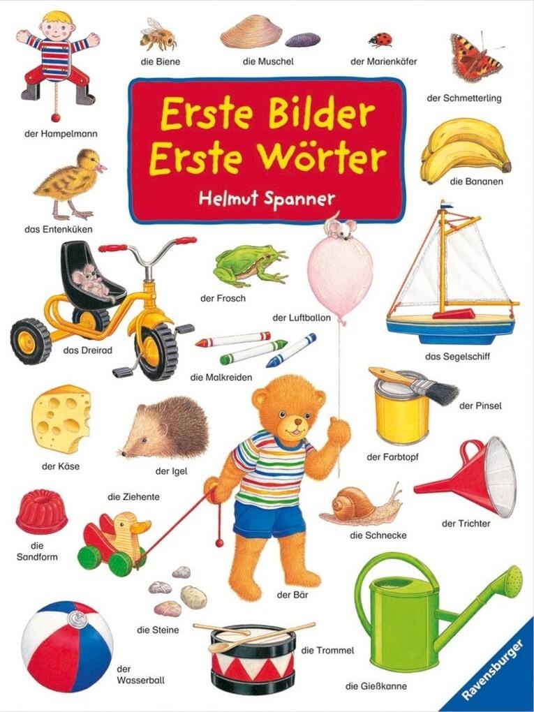 Erste Bilder - Erste Wörter als Buch