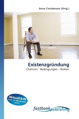 Existenzgründung als Buch von Anna Constensen