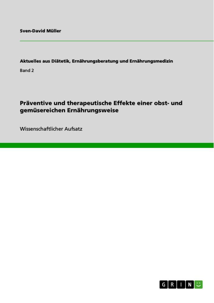 Präventive und therapeutische Effekte einer obs...