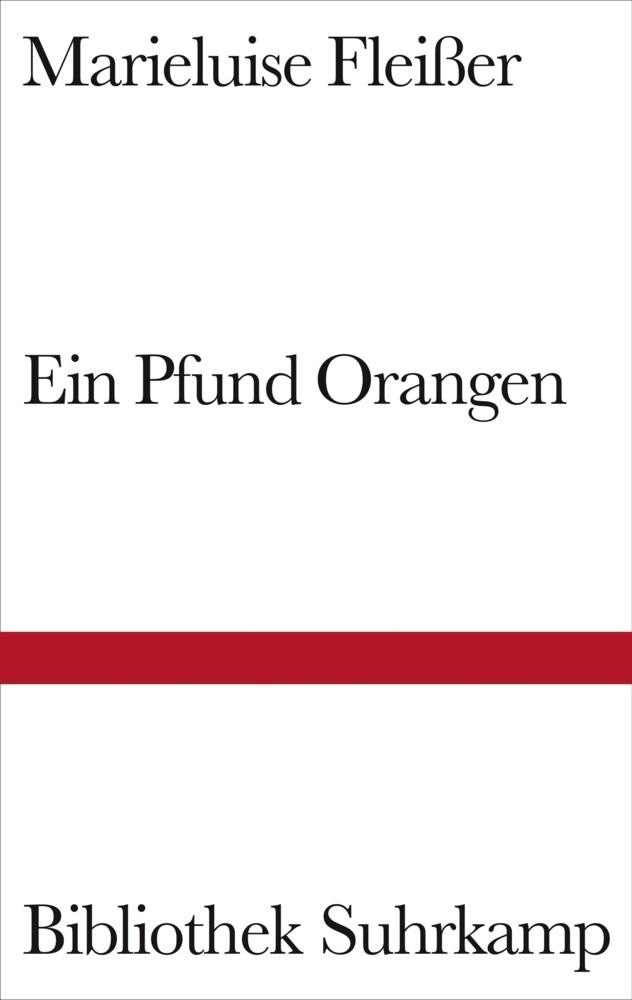Ein Pfund Orangen als Buch