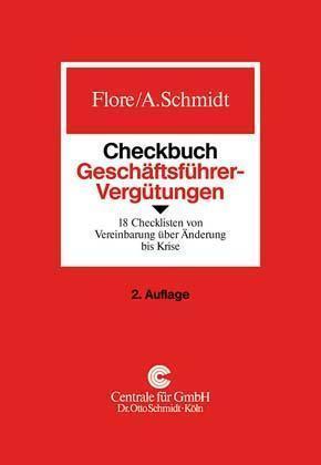 Checkbuch Geschäftsführer-Vergütungen als Buch