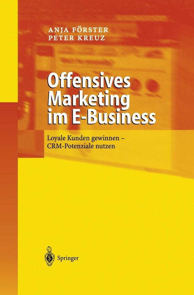 Offensives Marketing im E-Business als Buch