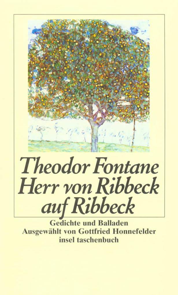 Herr von Ribbeck auf Ribbeck als Taschenbuch