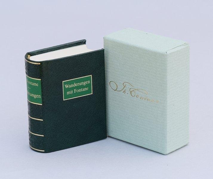 Wanderungen mit Fontane als Buch (Ledereinband)