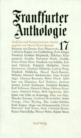 Frankfurter Anthologie. Bd.17 als Buch