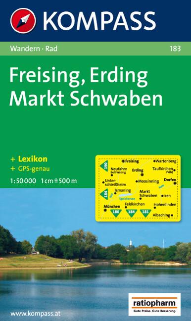 Freising - Erding - Markt Schwaben 1 : 50 000 als Buch