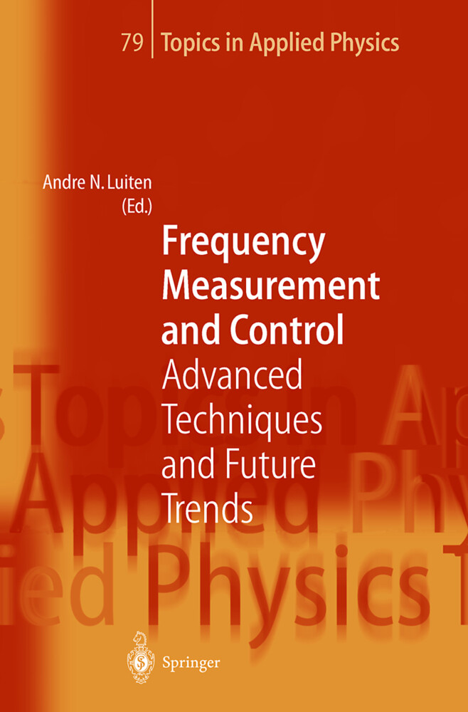 Frequency Measurement and Control als Buch (gebunden)