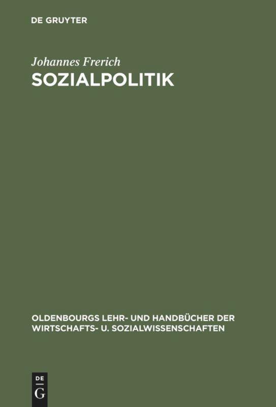 Sozialpolitik als Buch (gebunden)