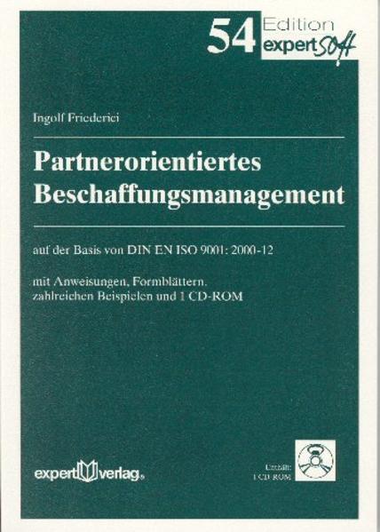 Partnerorientiertes Beschaffungsmanagement als Buch