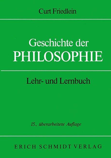 Geschichte der Philosophie als Buch