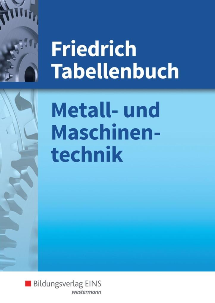 Friedrich Tabellenbuch als Buch (gebunden)