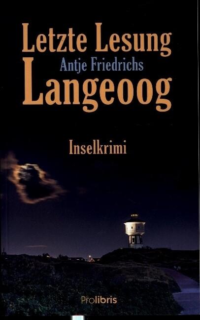 Letzte Lesung Langeoog als Buch