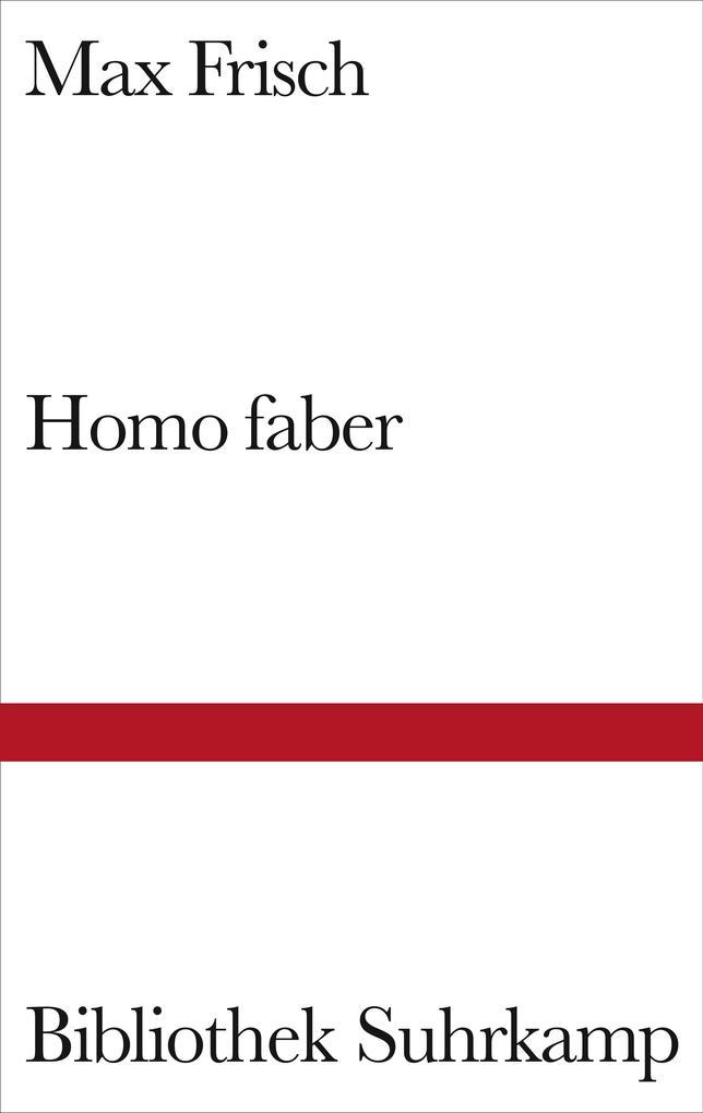 Homo faber als Buch
