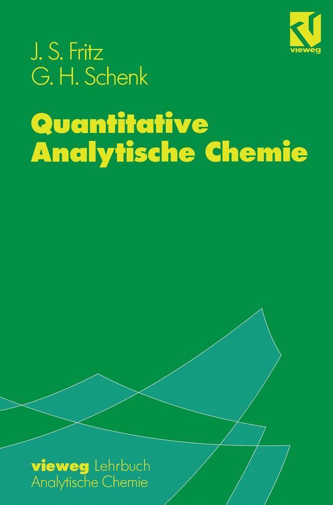 Quantitative Analytische Chemie als Buch