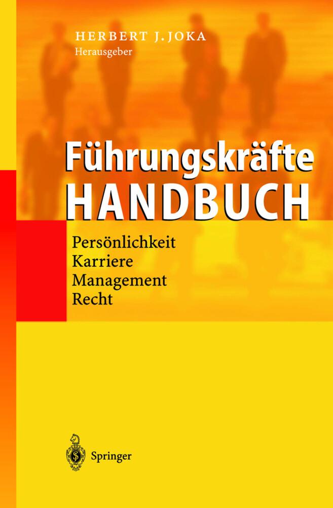 Führungskräfte-Handbuch als Buch