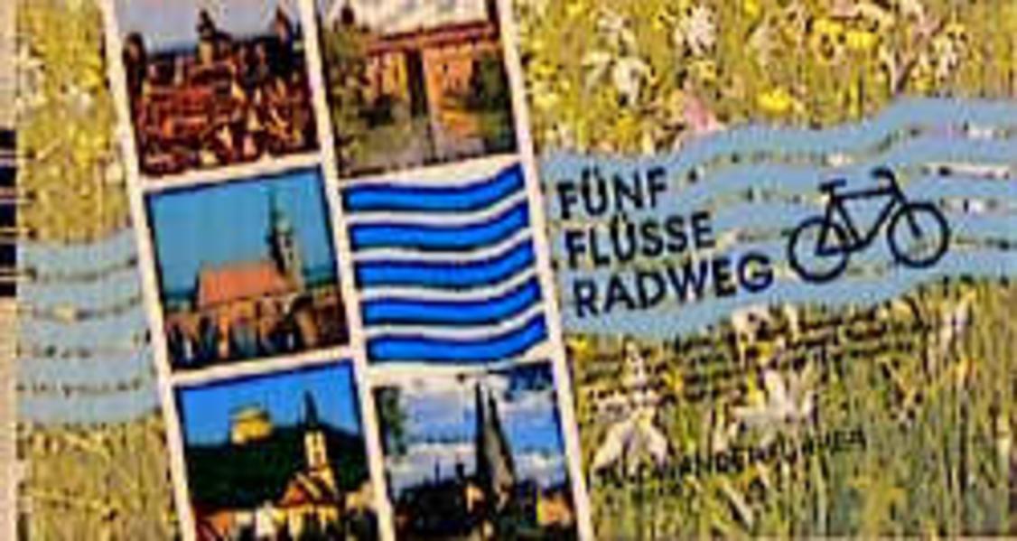 Fünf-Flüsse-Radweg als Buch