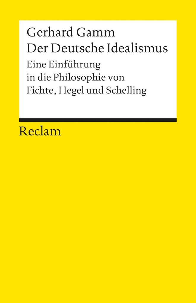 Der Deutsche Idealismus als Taschenbuch
