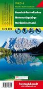 Garmisch-Partenkirchen: Wettersteingebirge, Werdenfelser Land 1 : 25 000